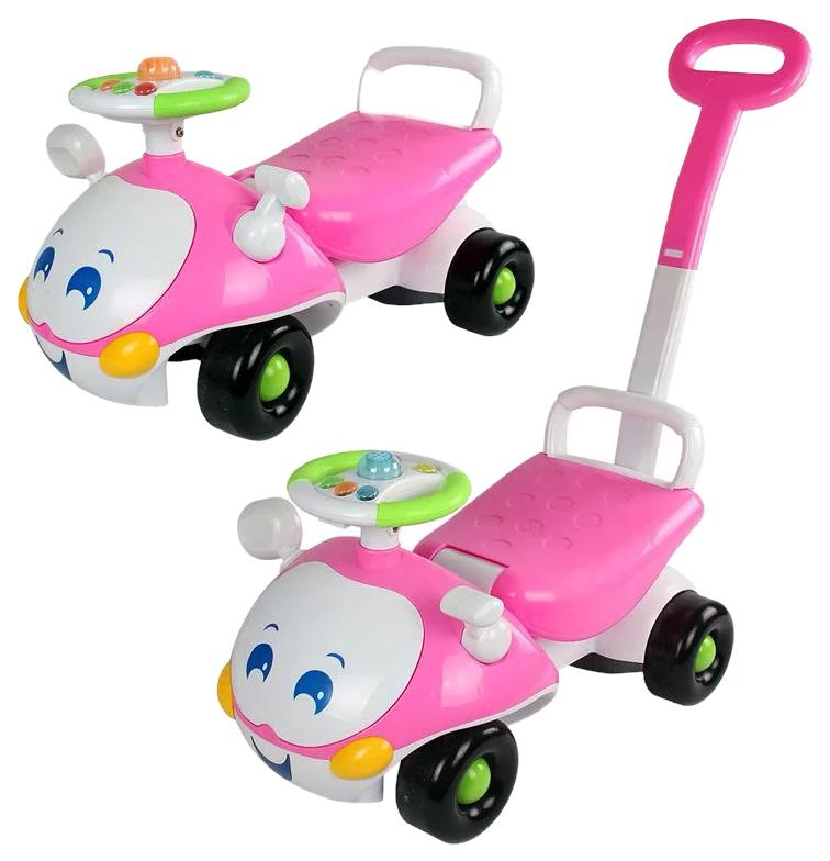 Купить Каталка детская Gratwest машина с глазами в ассортименте, Машинки каталки
