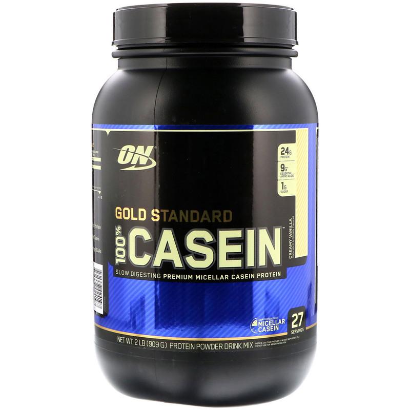 Протеин Optimum Nutrition 100% Gold Standard Casein 909 г French Vanilla Crème фото