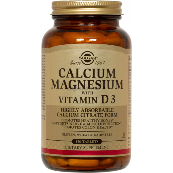 Кальций - Магний с витамином D3 таблетки 150 шт