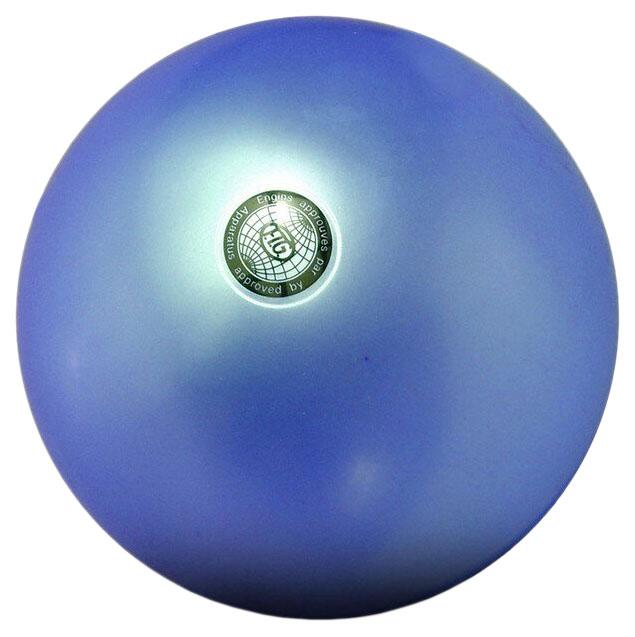 Гимнастический мяч Indigo 19 см синий