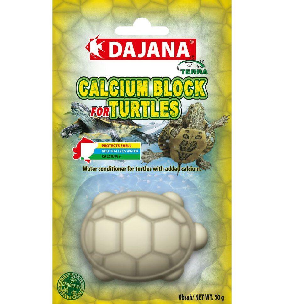 Камень минеральный для водных черепах Dajana Calcium