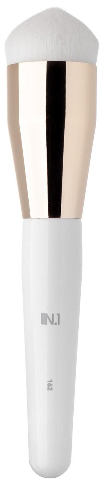 Кисть для макияжа N.1 Плотная для контуринга лица из ворса таклон №162