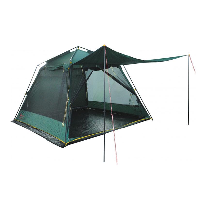 Палатка Tramp Bungalow Lux Green V2 зеленый Цвет зеленый фото