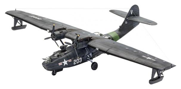 Купить Модели для сборки Revell Патрульный противолодочный самолет PBY-5A CATALINA 03902