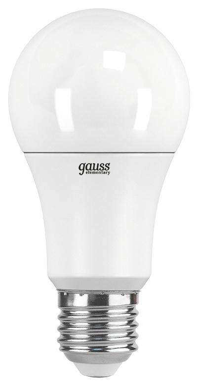 Лампочка Gauss Elementary A60 E27 12W 6500K