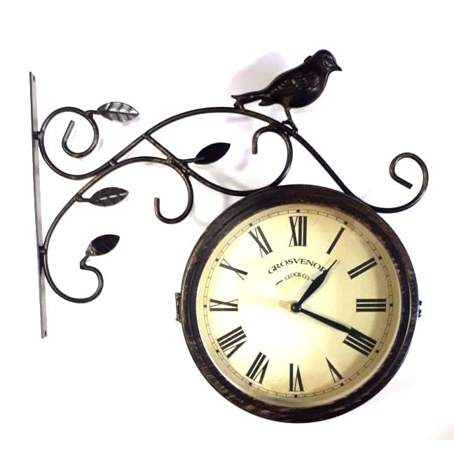 Часы Репка садовые двусторонние 2018006-20F