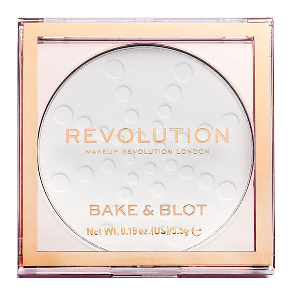 Пудра Revolution Makeup Bake & Blot White