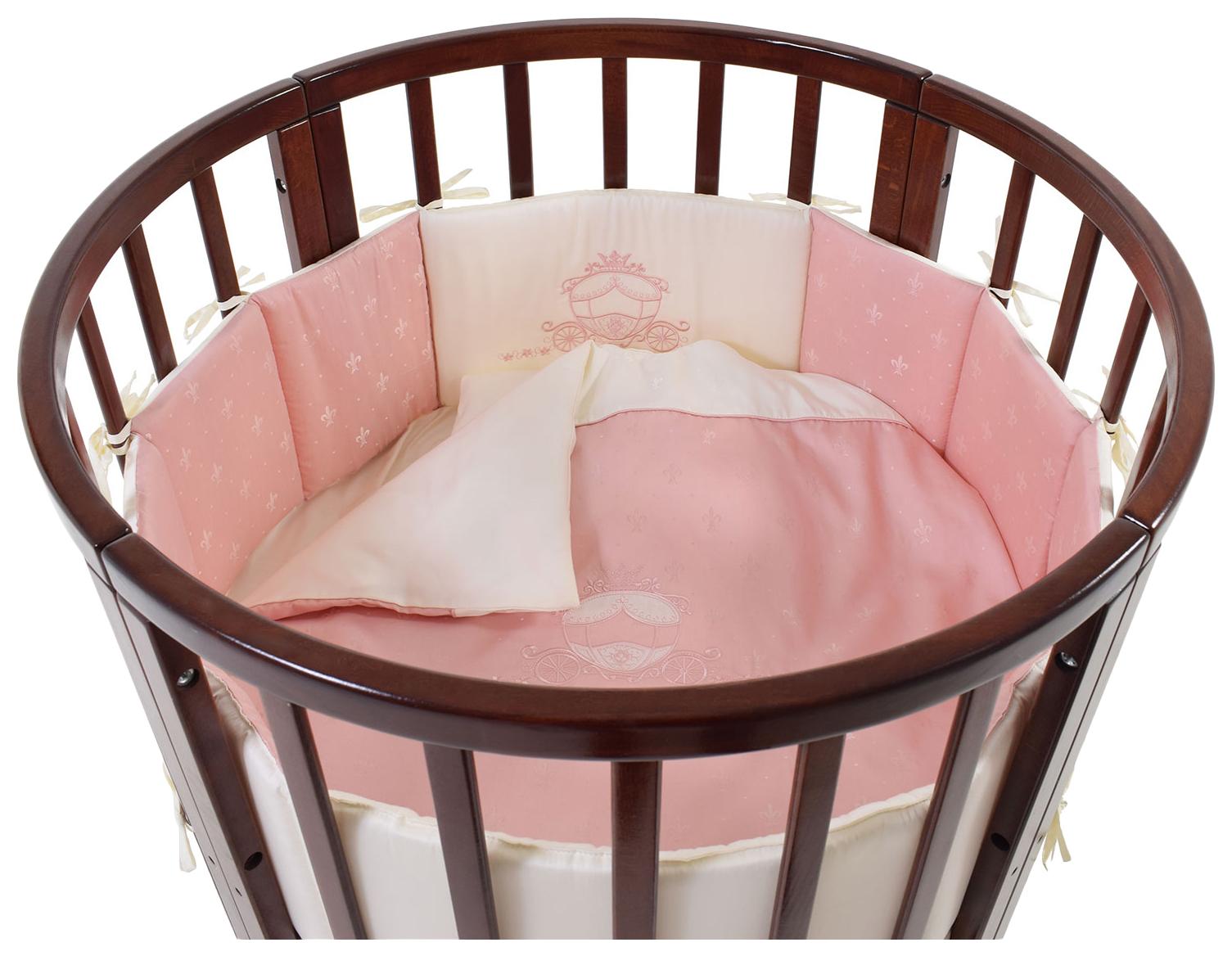 Комплект в люльку Prestigio (цвет: розовый, 6 предметов) 6020A/2 22 203