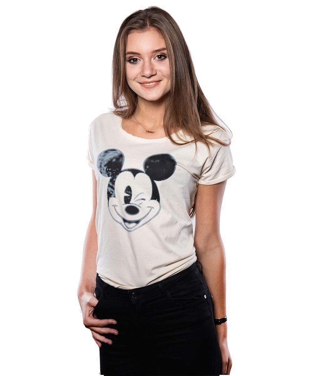 Футболка Good Loot Disney Mickey Blinking, белый, S INT фото