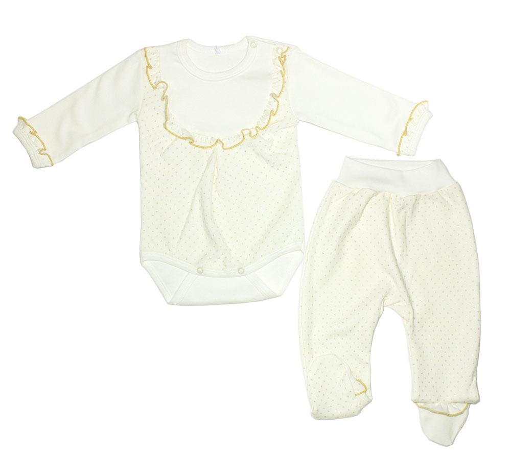 Комплект одежды Осьминожка 518-246-22/68 бежевый р.68