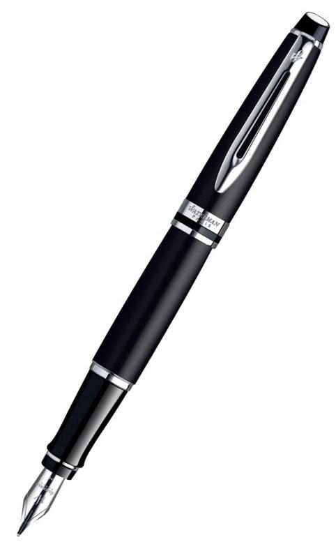 Ручка перьевая Expert Matte Black CT Waterman