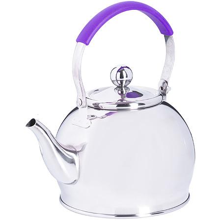 Заварочный чайник глянцевый 1 литр MB (х24) 29005