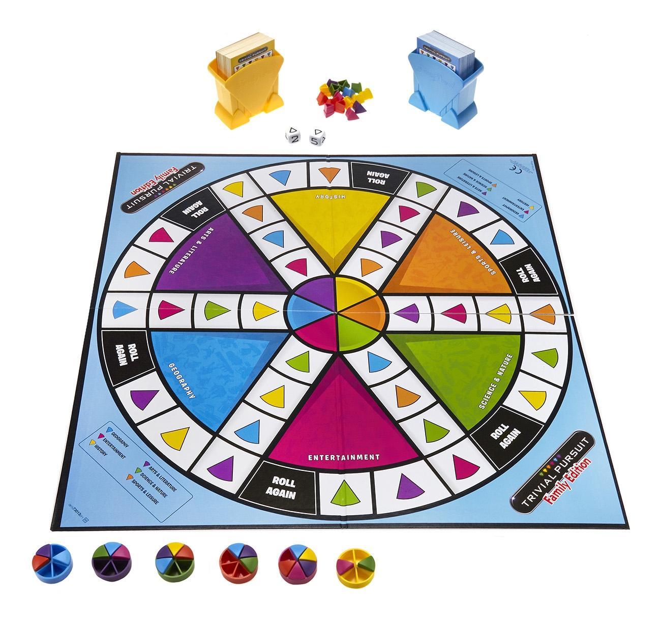 Семейная игра Hasbro Тривиал персьюит, 73013
