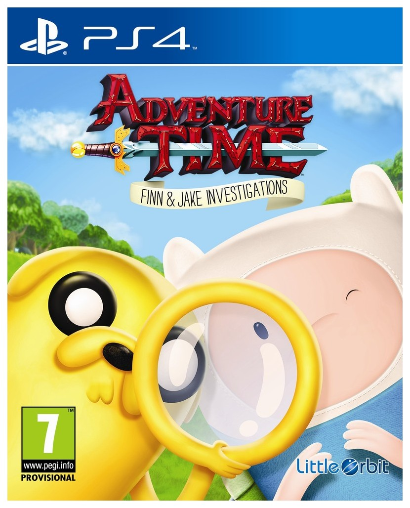 Игра Adventure Time: Finn and Jake Investigations