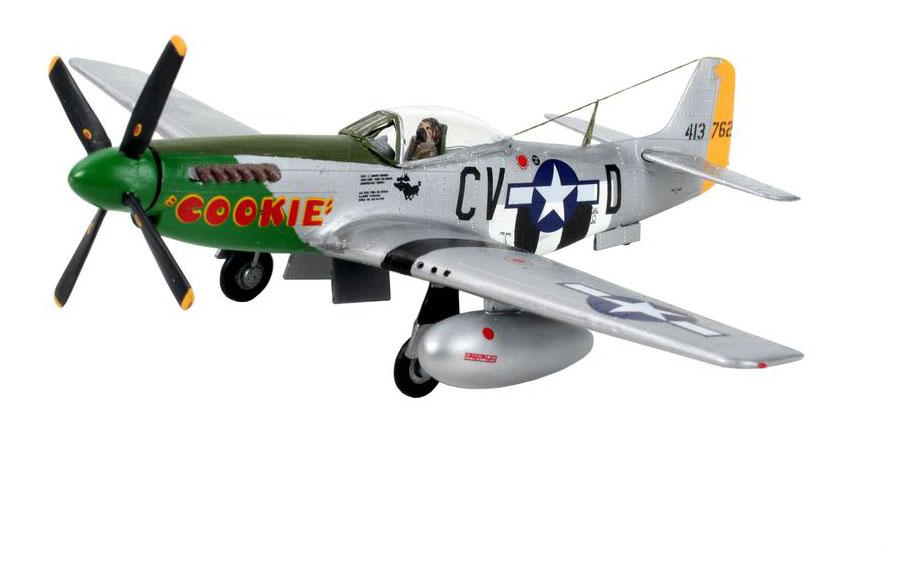 Набор самолет-истребитель p-51 d mustang, 2-ая мировая война, сша