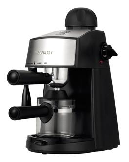 Рожковая кофеварка Scarlett SC CM33004 Black