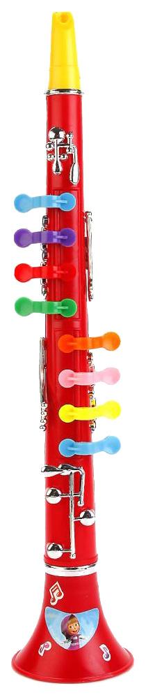Купить Маша и медведь, Дудка игрушечная Играем вместе Кларнет Маша и Медведь B323586-R2, Играем Вместе, Детские музыкальные инструменты