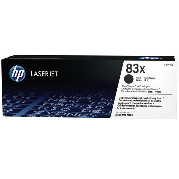 Картридж для лазерного принтера HP 83Х (CF283X) черный, оригинал