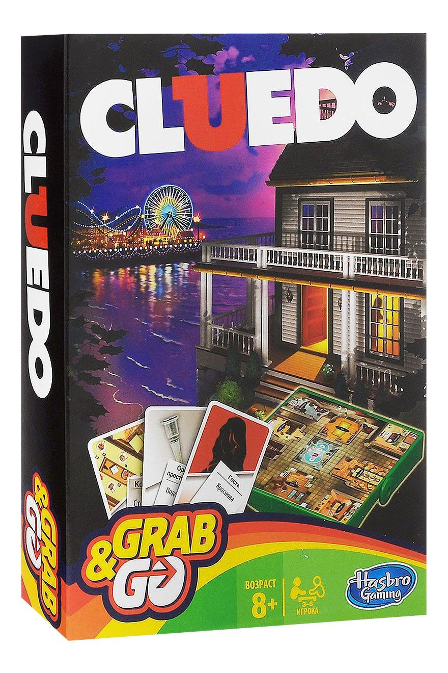 Купить Клуэдо Дорожная версия, Клуэдо, дорожная версия b0999, Hasbro Games, Настольные ролевые игры