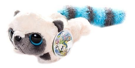 Мягкая игрушка Aurora Юху и его друзья 65-501 Юху голубой лежачий, 16 см