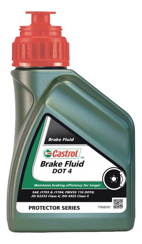 Тормозная жидкость Castrol Brake Fluid DOT4 0.5л