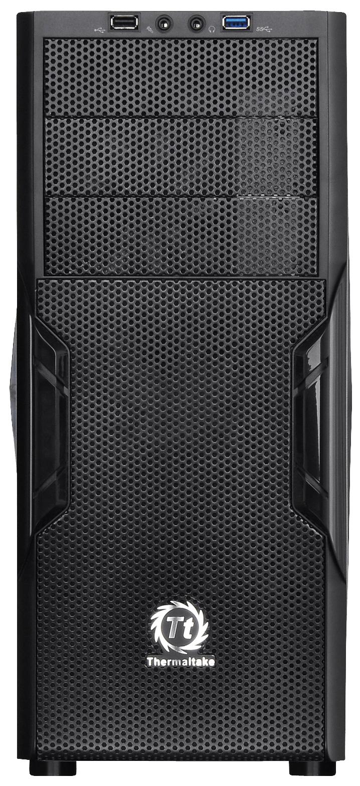 Компьютерный корпус Thermaltake Versa H22 без БП (CA-1B3-00-M1NN-00) black