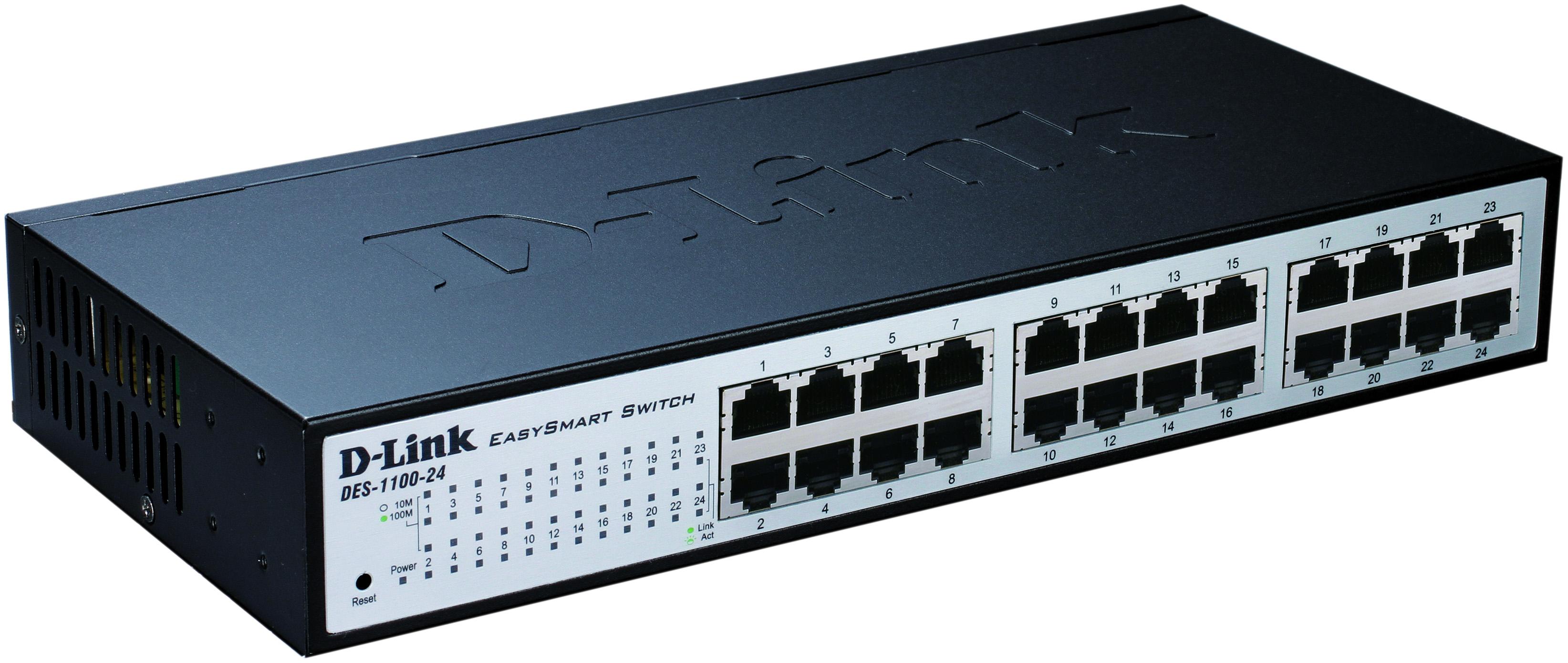 Коммутатор D Link EasySmart DES 1100
