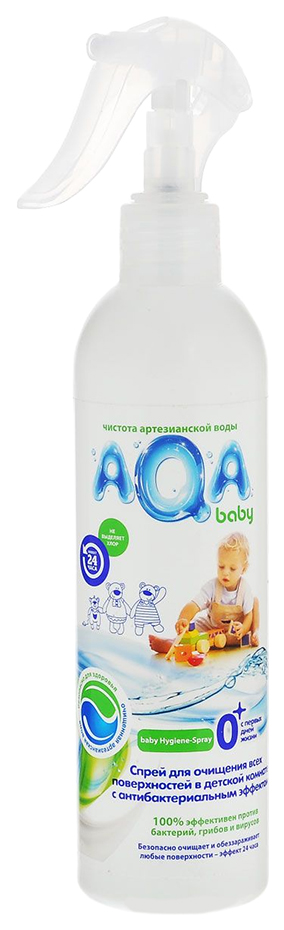 Средство для уборки детских помещений AQA Baby Антибактериальный спрей 300 мл