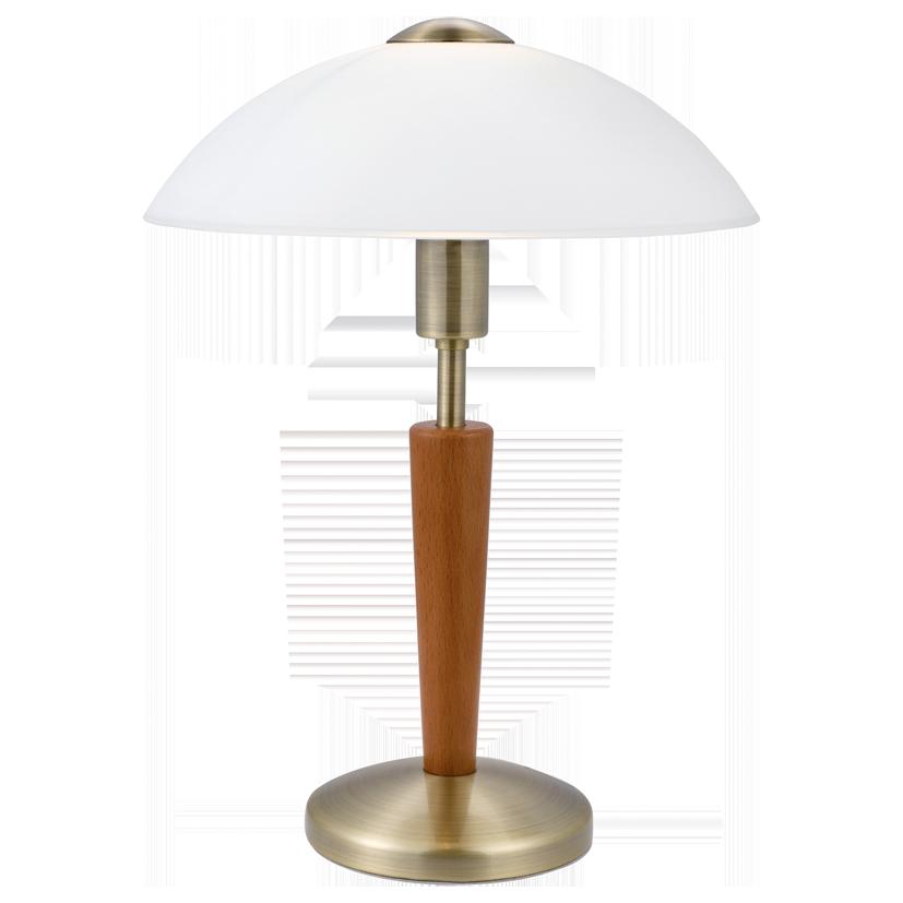 Лампа настольная Eglo Solo 1 87 256 коричневый