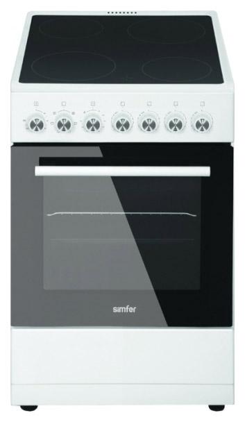 Электрическая плита Simfer F56VW05001 White