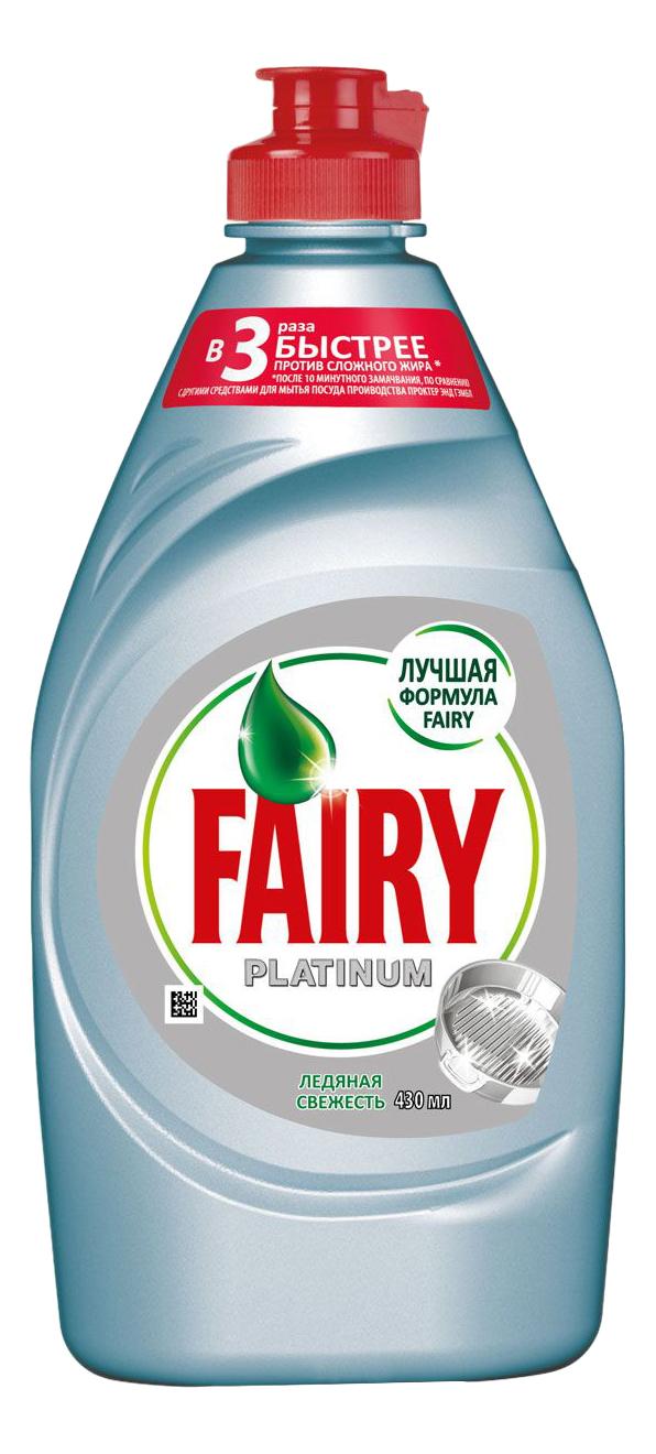 Средство для мытья посуды Fairy ледяная свежесть