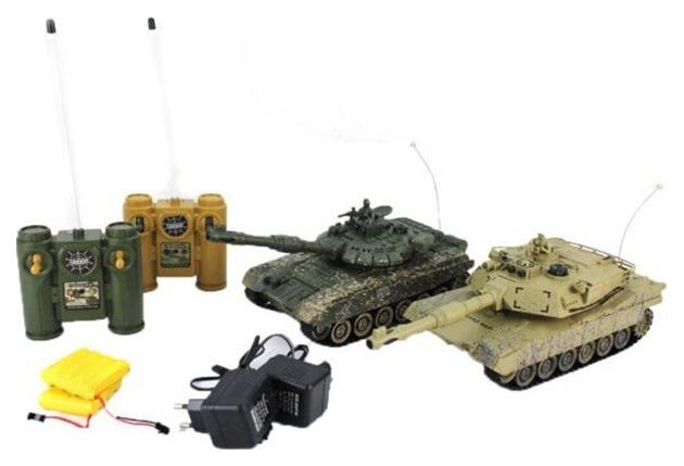 Купить Игровой набор Пламенный мотор Набор танков Танковый бой и Abrams 870165,