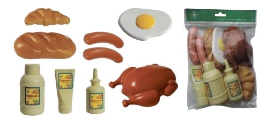 Купить Набор продуктов игрушечный Совтехстром Продукты №2, Игрушечные продукты