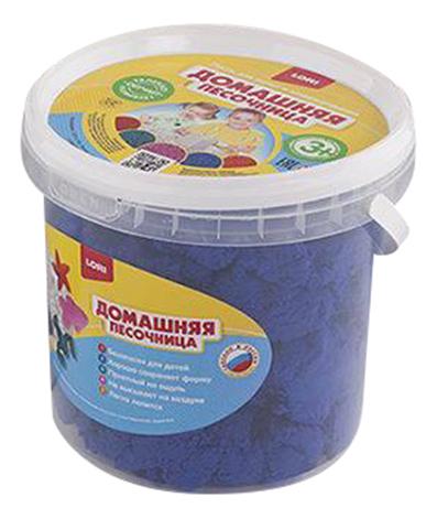 Кинетический песок LORI Синий песок 1 кг