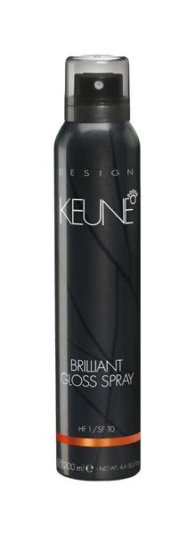 Блеск для волос Keune Brilliant Gloss Spray 200 мл