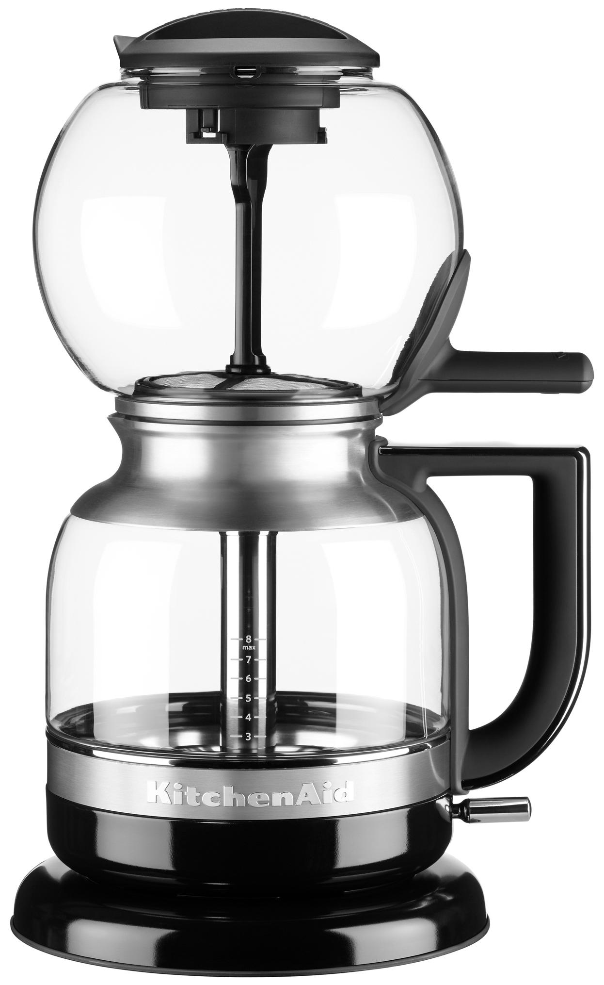 Кофеварка сифонная KitchenAid Artisan 5KCM0812EOB Black фото