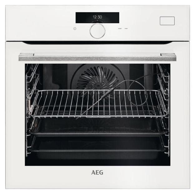 Встраиваемый электрический духовой шкаф AEG BSR882320W White