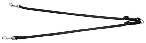 Сворка Hunter Smart Ecco M нейлон черная (40-65/2 см)