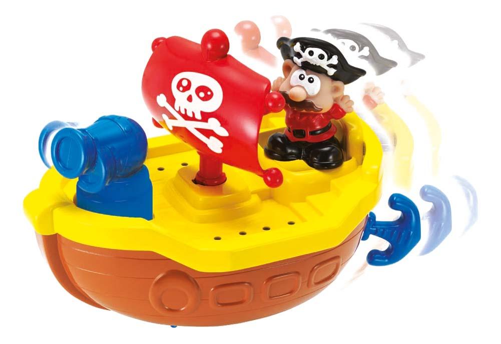 Интерактивная игрушка для купания Keenway Пират желтый
