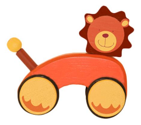 Деревянная игрушка для малышей Moulin Roty Лев