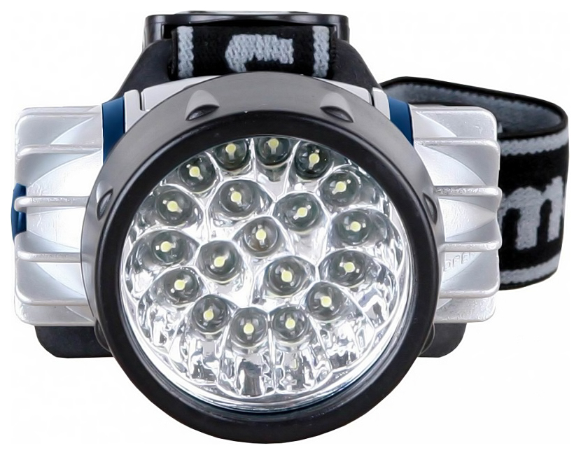 Туристический фонарь Camelion 5323-19MX серебристый, 4 режима
