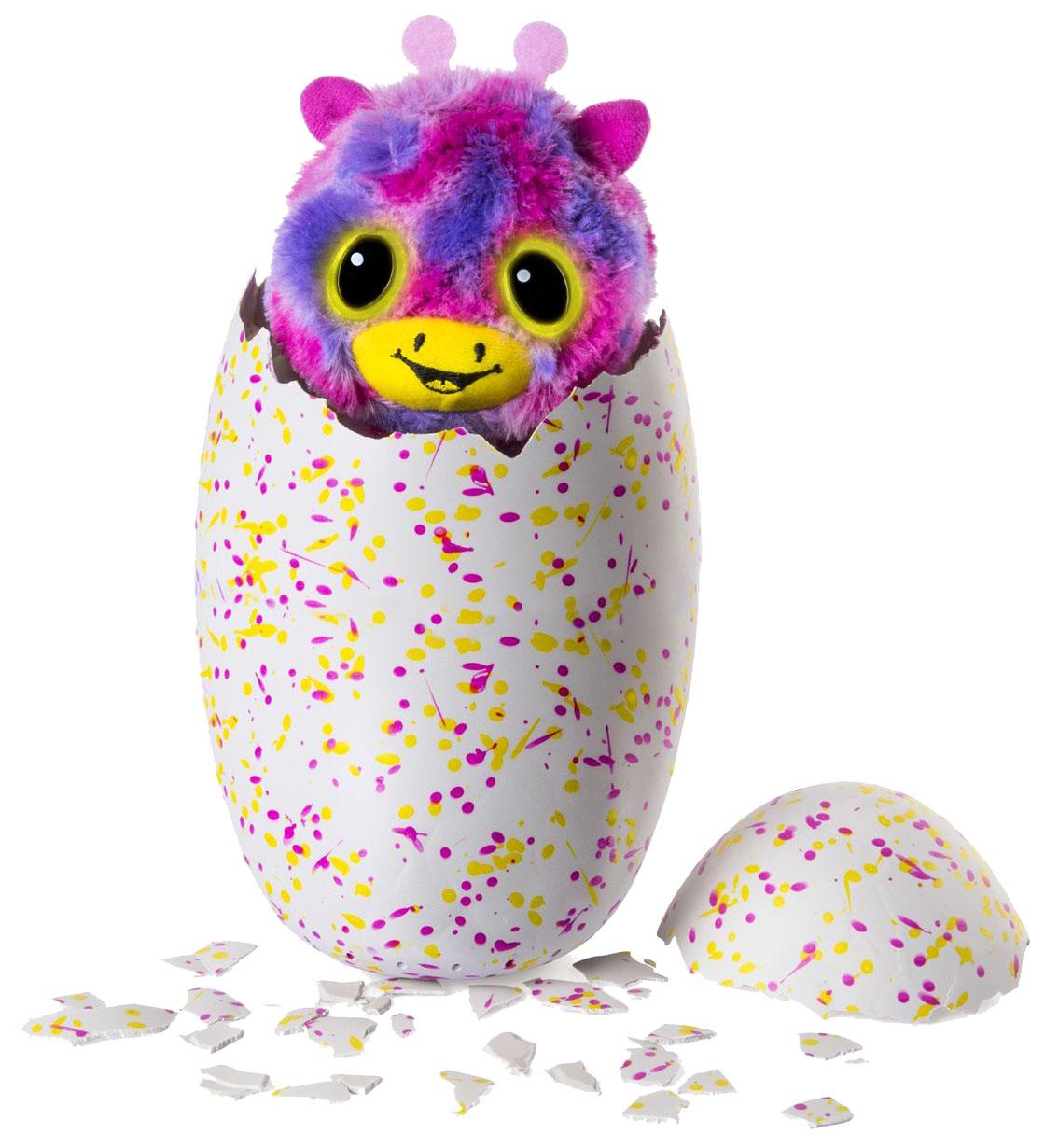 Интерактивная игрушка Hatchimals сюрприз близнецы вылупляющиеся из яйца 19110-PINK
