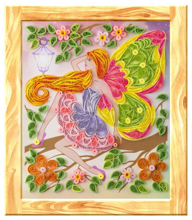 Набор для рисования LORI Цветочная фея
