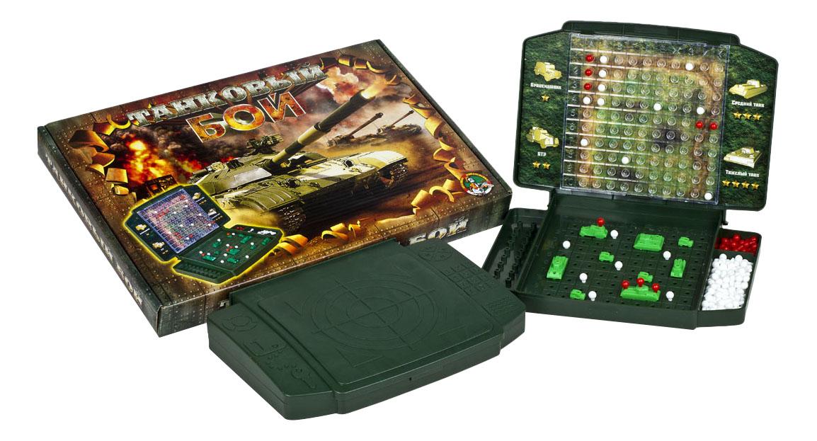 Семейная настольная игра Танковый бой Тридевятое царство