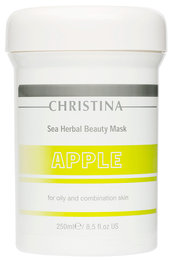 Маска для лица Christina Sea Herbal Beauty Mask Green Apple 250 мл фото