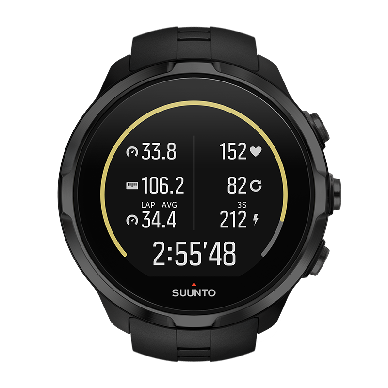 Смарт-часы Suunto Spartan Sport Wrist HR черные