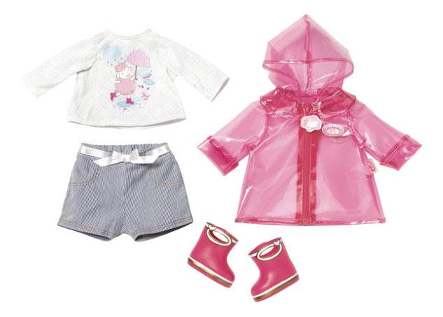 Одежда для дождливой погоды для Baby Annabell Zapf Creation 700-808 фото