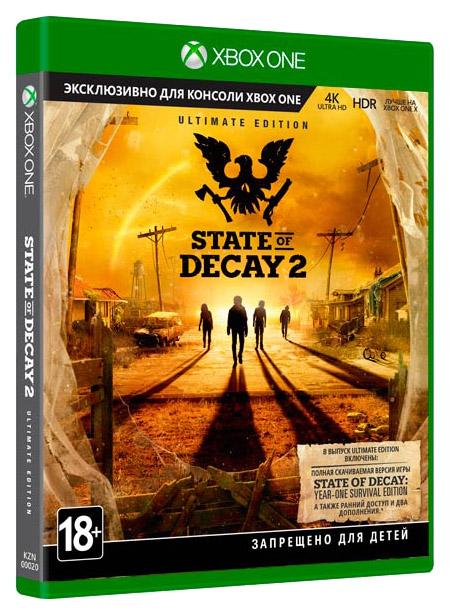 Цифровая версия игры MICROSOFT STATE OF DECAY 2 ULTIMATE