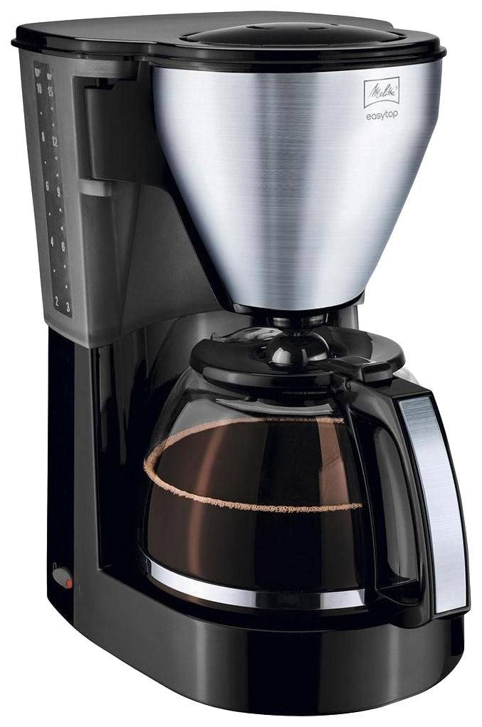 Кофеварка капельного типа Melitta Easytop Black/Silver