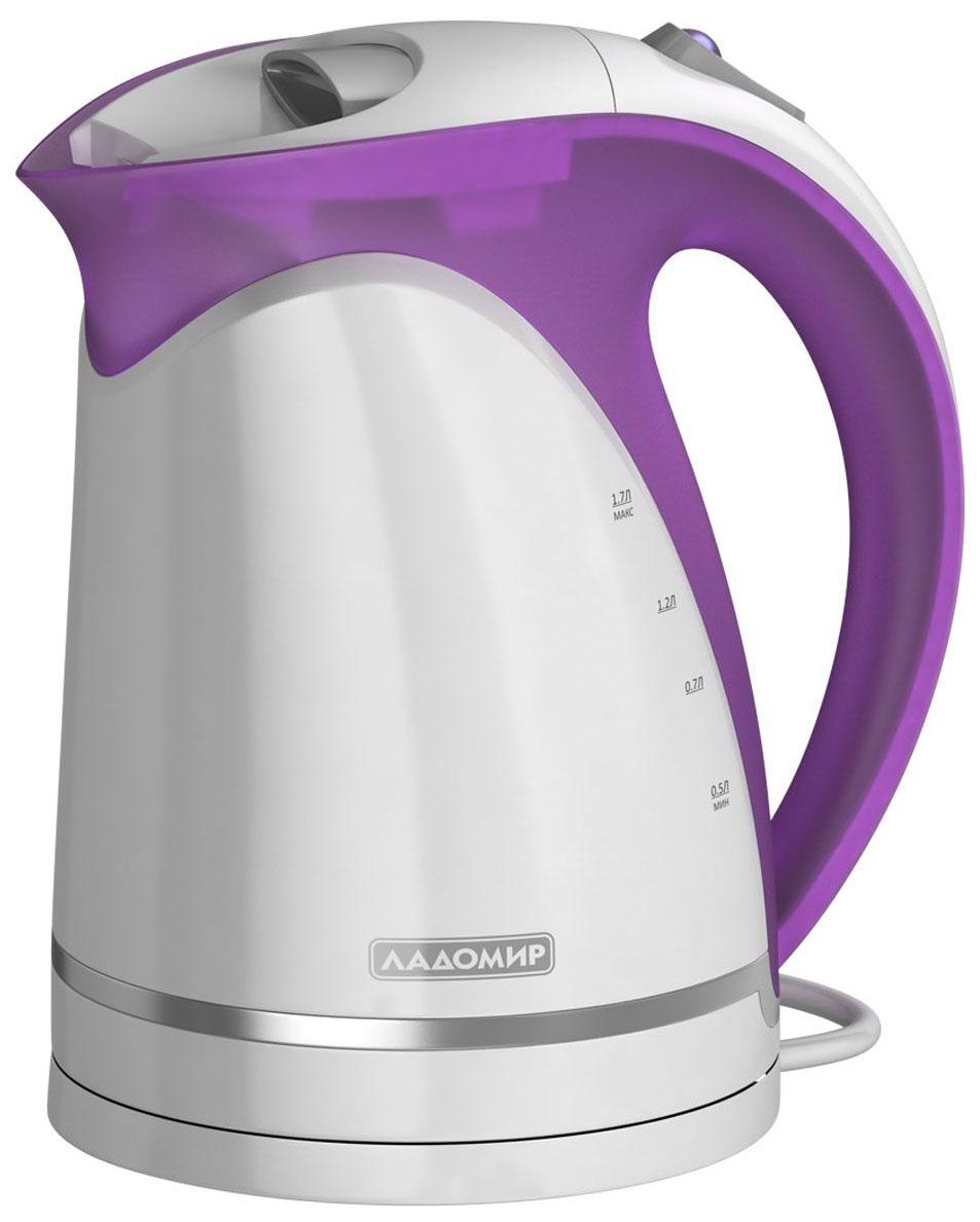 Чайник электрический Ладомир 324 Purple/White